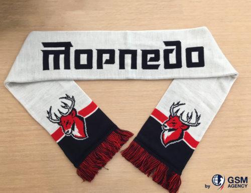 Свежие варианты шарфов для болельщиков ХК Торпедо